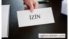 İŞ İZİNLERİ   Work permits