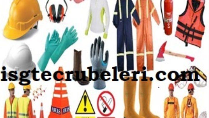 İş Güvenliği Malzemeleri ve Kişisel Koruyucu Ekipmanlar