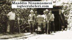 Maadin Nizamnamesi