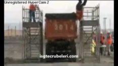Platformdan Düşme Kazası