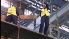 Yüksekte Çalışma Düşme Kazası 002