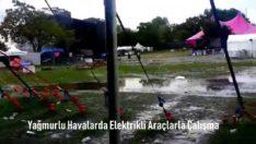 Yağmurlu Havalarda Elektrikli Araçlarla Çalışma