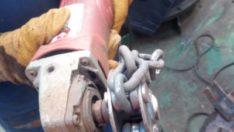 Zincirli Taşlama Makinası