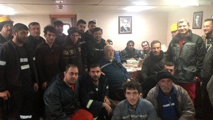 Ayşe Naz Albayrak Gemi Mürettebatı ve Çalışanlarına İş Güvenliği Eğitimi
