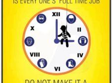 Güvenlik herkesin tam zamanlı işidir, Yarı zamanlı çalışma yapma.