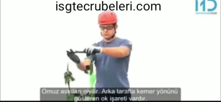 Doğru emniyet kemeri giymeyi öğren Have correct learn, how wear of safety harness