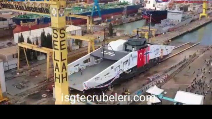 Norse Group, Liquid Hydrogen ile çalışan Hydra First Ferry'nin gövdesini teslim etti.