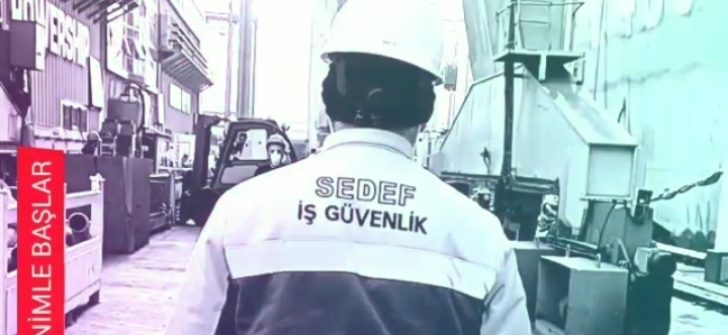 Unutma. iş güvenliği sorumluları sadece sizin sağlığınızı korumak için çalışır. Don't forget. Safety responsibilities only work for protect your healthy