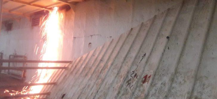 Sıcak işlem Kazası sonrası çıkan yangının kök neden analizi ve çalışanlarla paylasimi