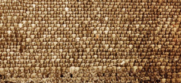 1910 Kexholm Alayı Can Muhafızlarının (İmparatorluk Rusya) eşsiz bir fotoğrafı.