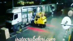 Forklift kazası